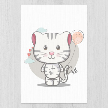 Tablou - Psicuta cu balonasu