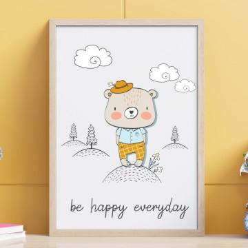 Tablou - Ursuletul - Be happy everyday