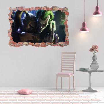 3D Sticker perete 60x90cm - Joker