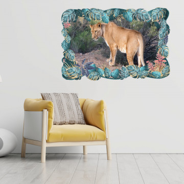 3D Sticker perete - Animale salbatice20