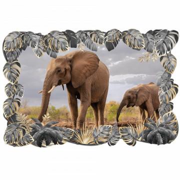 3D Sticker perete - Animale salbatice33