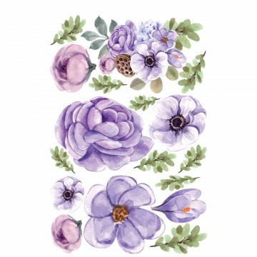 Set stickere decorative perete - Flori, 60x90cm