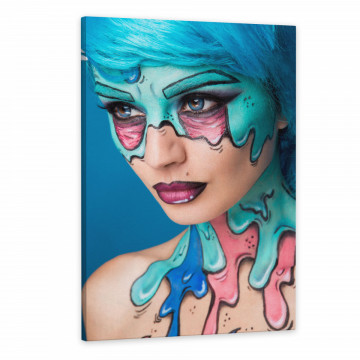 Tablou Canvas, Zombie Girl