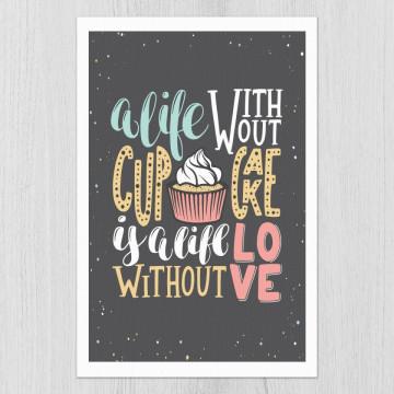 Tablou - Cupcake