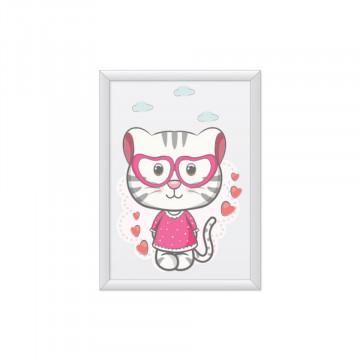 Tablou - Psicuta cu ochelari