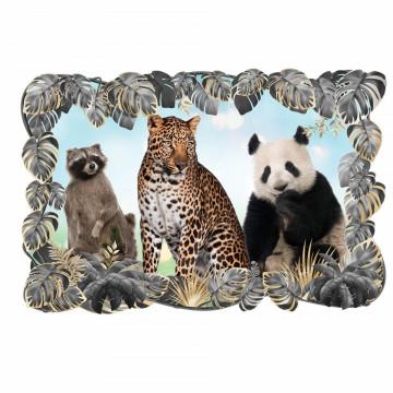3D Sticker perete - Animale salbatice10