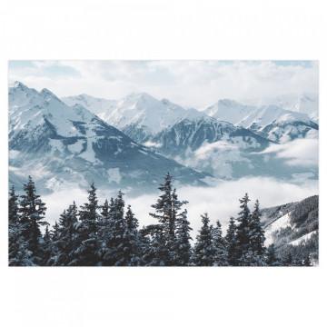 Fototapet autoadeziv - Zapada pe munti