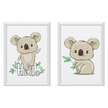 Set 2 tablouri - Ursuletii Koala