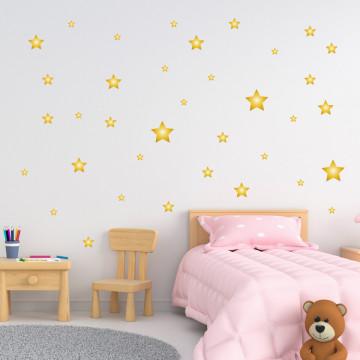 Set stickere decorative perete - Stelute 2, 60x60cm