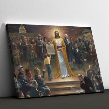 Tablou Canvas, Intoarcerea lui Iisus pe pamant