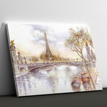 Tablou Canvas, Parisul pictat