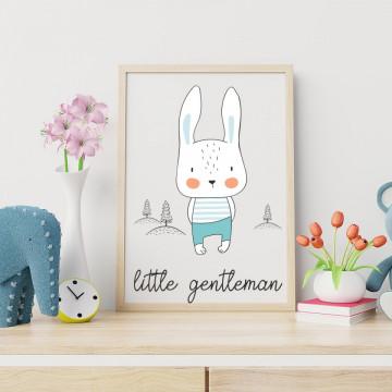 Tablou - Iepurasul - Little gentleman