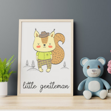 Tablou - Veverita - Little gentleman