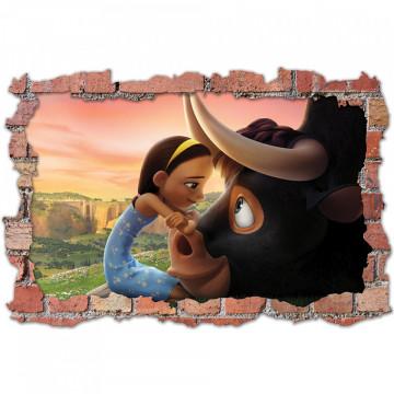 3D Sticker perete 60x90cm -Ferdinand