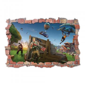 3D Sticker perete 60x90cm - Fortnite 6
