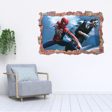 3D Sticker perete 60x90cm - Spiderman 2