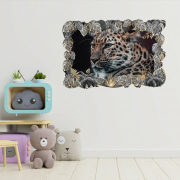 3D Sticker perete - Animale salbatice24