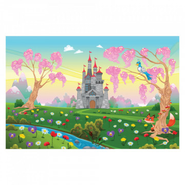 Fototapet autoadeziv copii - Castelul Magic