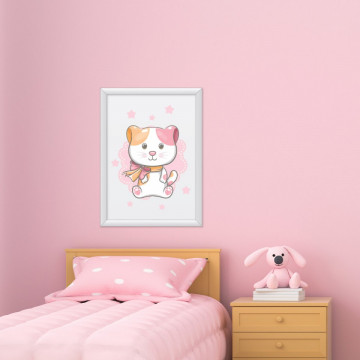 Tablou - Pisicuta Roz