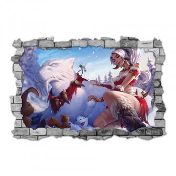 3D Sticker perete 60x90cm - League of Legends