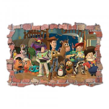 3D Sticker perete 60x90cm - Toy Story