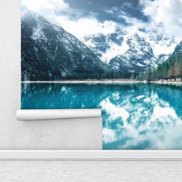 Fototapet autoadeziv - Lac Glaciar