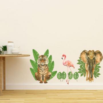 Set stickere decorative perete copii - ForestLand 2, 60x90cm