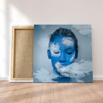 Tablou Canvas, Cu capul in nori