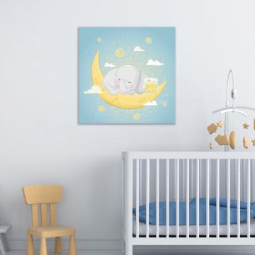 Tablou Canvas, Elefantul cu stelute