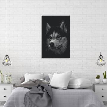Tablou Canvas, Husky