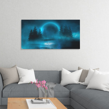 Tablou Canvas, Luna misterioasa