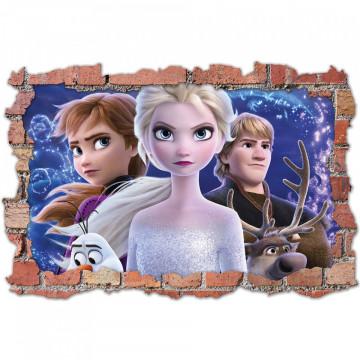 3D Sticker perete 60x90cm - Frozen3