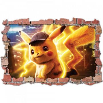 3D Sticker perete 60x90cm - Pokemon