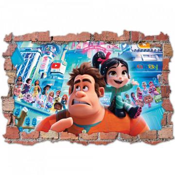 3D Sticker perete 60x90cm -Ralf2