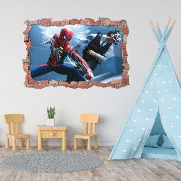 3D Sticker perete 60x90cm - Spiderman 2