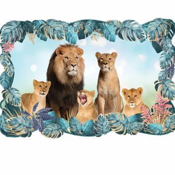 3D Sticker perete - Animale salbatice11