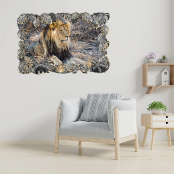 3D Sticker perete - Animale salbatice18