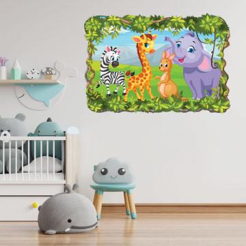3D Sticker perete - Animale salbatice42