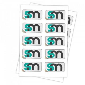 Etichete Dreptunghi - colturi rotunde