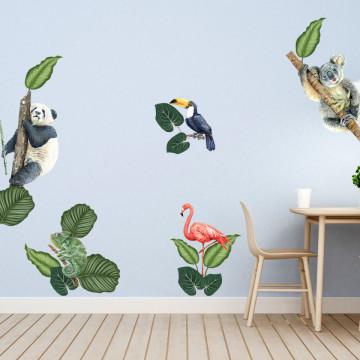 Set stickere decorative perete copii - Greenland3, 60x90cm