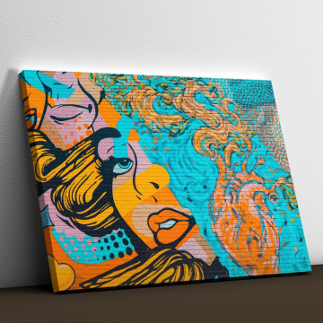 Tablou Canvas, Graffiti art