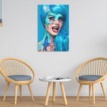 Tablou Canvas, Zombie Woman