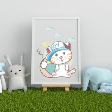 Tablou - Pisicuta boy