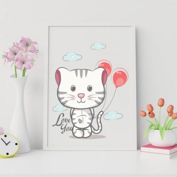 Tablou - Psicuta cu balonu