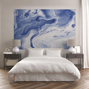 Fototapet autoadeziv - Blue & White