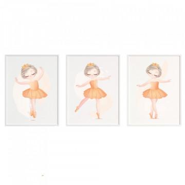Set 3 tablouri - Balerine2