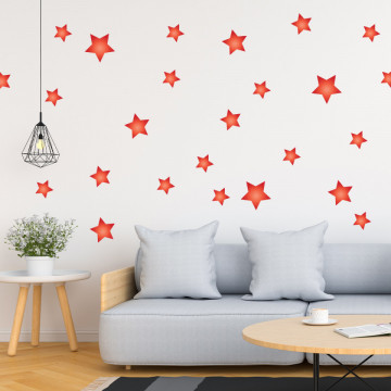 Set stickere decorative perete - Stelute 3, 60x60cm