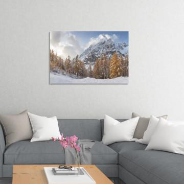 Tablou Canvas, Munti iarna