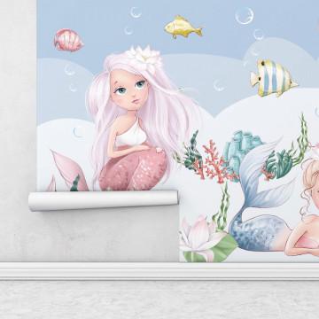 Fototapet autoadeziv copii - Oceanul Sirenelor