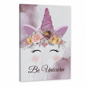 Tablou Canvas, Be Unicorn
